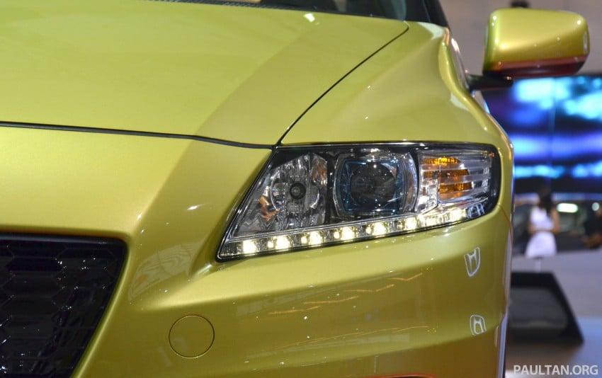 Honda CR-Z facelift makes world debut in Indonesia Image #132037