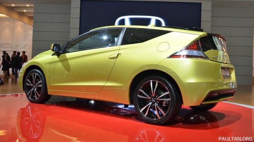 Honda CR-Z facelift makes world debut in Indonesia Image #132035