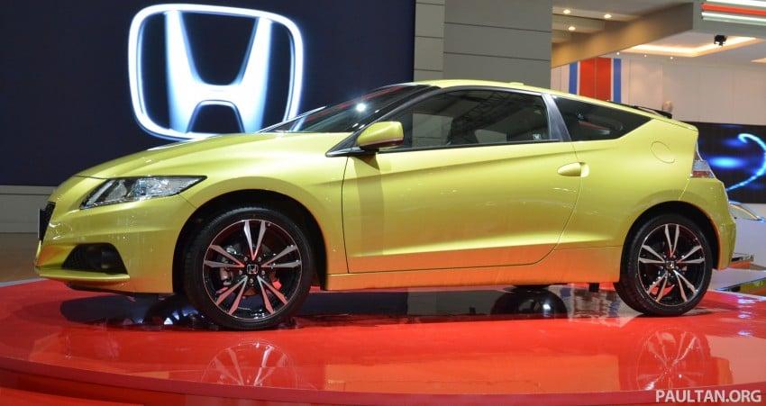 Honda CR-Z facelift makes world debut in Indonesia Image #132032