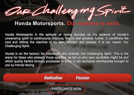Honda Contest