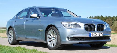 Hybrid powerhouse: BMW ActiveHybrid 7 driven in Munich Image #58714
