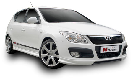 free bodykit for first 50 hyundai i30 in 2010. Black Bedroom Furniture Sets. Home Design Ideas