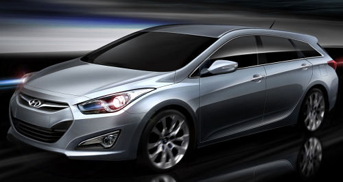 Hyundai i40 - first image revealed of VF wagon's interior