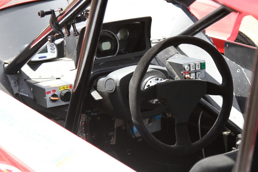 2012 PPIHC: Shakedown session of the i-MiEV Evolution at Pikes Peak International Raceway Image #124715
