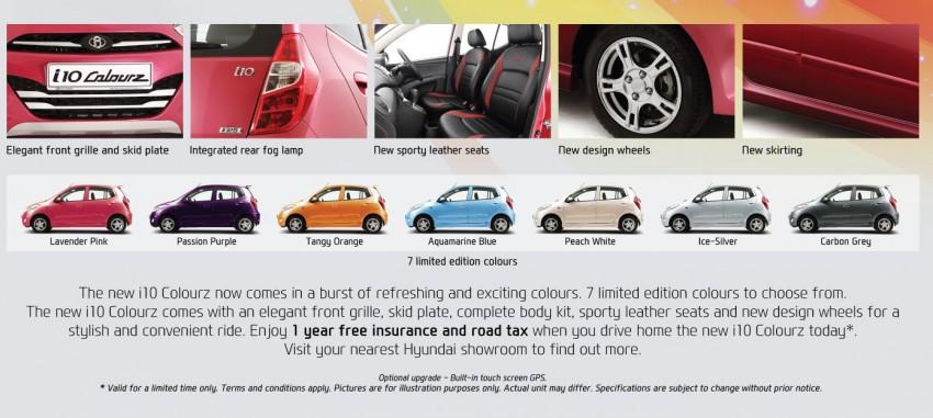 Hyundai i10 – limited-edition Colourz introduced Image #151272