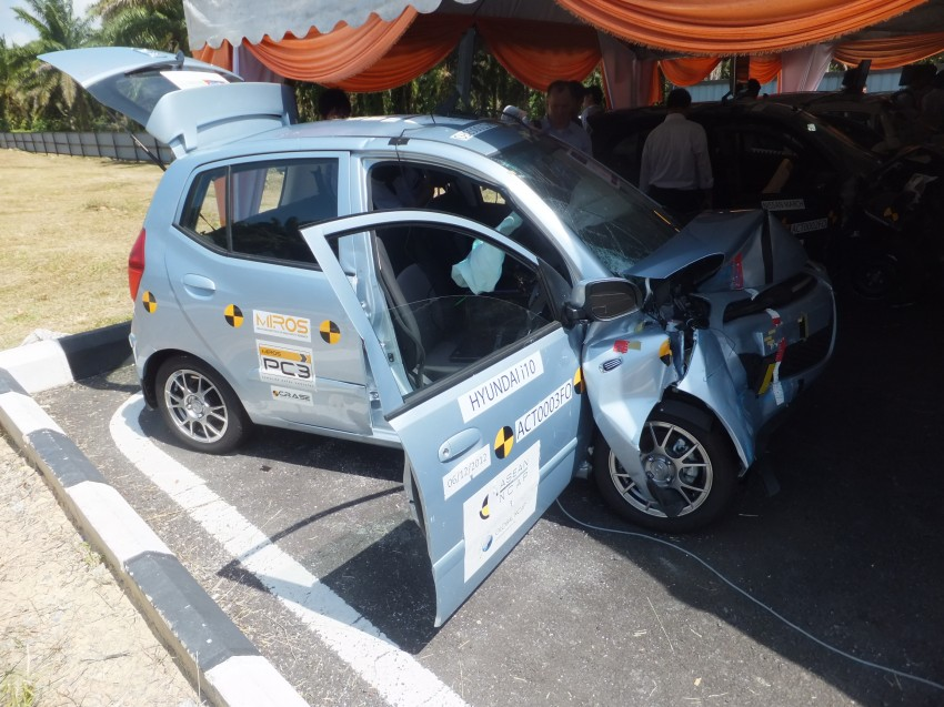 ASEAN NCAP first phase results released for eight models tested – Ford Fiesta and Honda City get 5 stars Image #151938