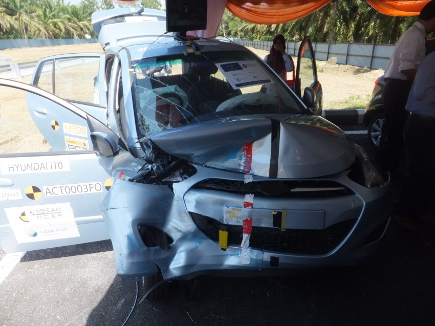 ASEAN NCAP first phase results released for eight models tested – Ford Fiesta and Honda City get 5 stars Image #151939