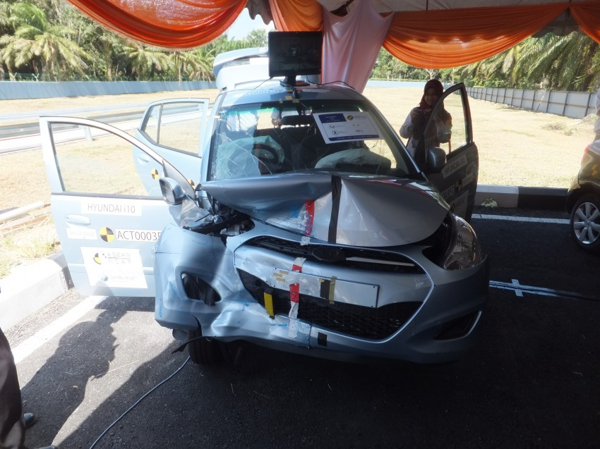 ASEAN NCAP first phase results released for eight models tested – Ford Fiesta and Honda City get 5 stars Image #151940