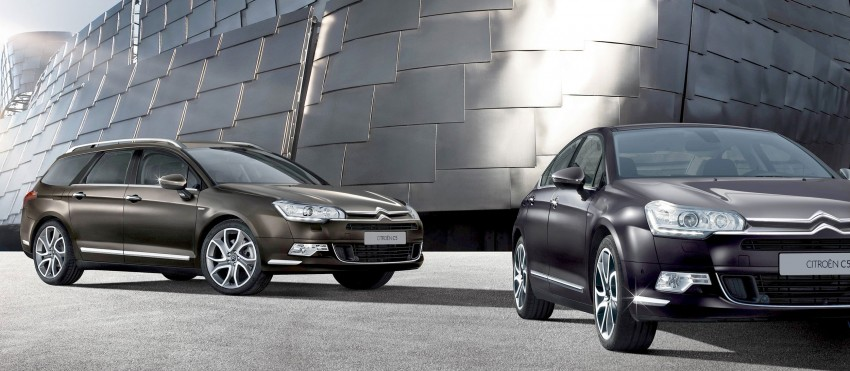 Citroën C5 receives styling and tech updates Image #115751