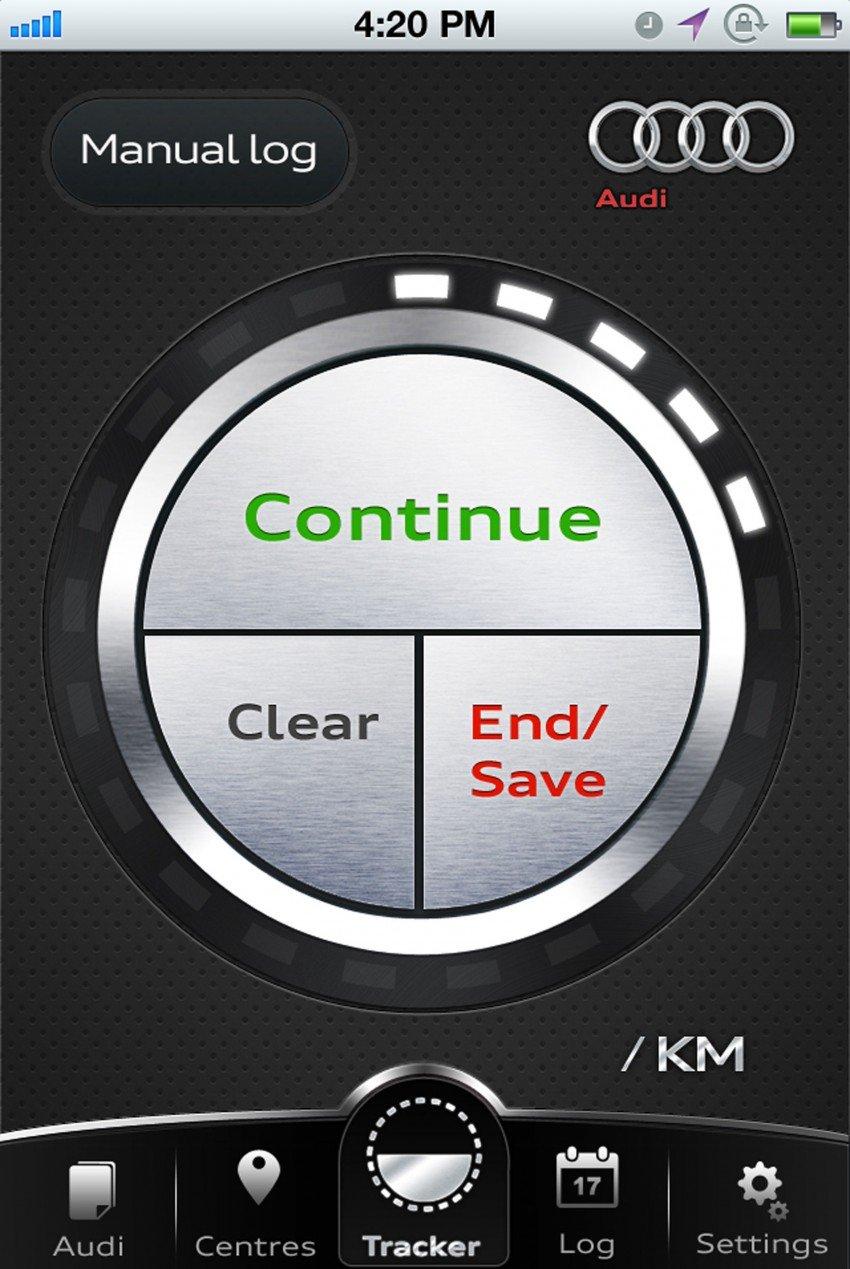 Audi Mileage Tracker – helps calculate mileage claims Image #118026