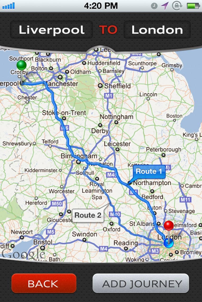 Audi Mileage Tracker – helps calculate mileage claims Image #118028