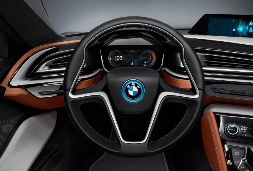 BMW i8 Spyder Concept – topless i8 set for Beijing debut Image #97009
