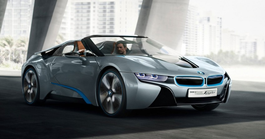 BMW i8 Spyder Concept – topless i8 set for Beijing debut Image #97010