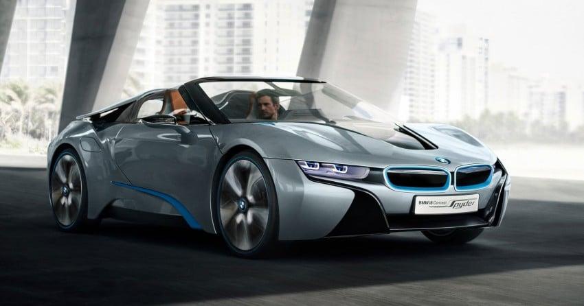 BMW i8 Spyder Concept – topless i8 set for Beijing debut Image #97010