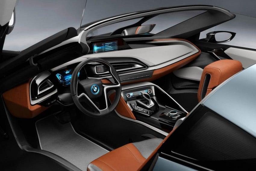 BMW i8 Spyder Concept – topless i8 set for Beijing debut Image #97012