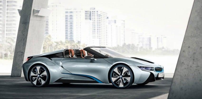BMW i8 Spyder Concept – topless i8 set for Beijing debut Image #97014