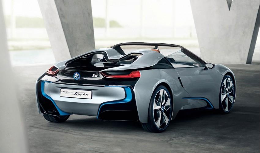 BMW i8 Spyder Concept – topless i8 set for Beijing debut Image #97015
