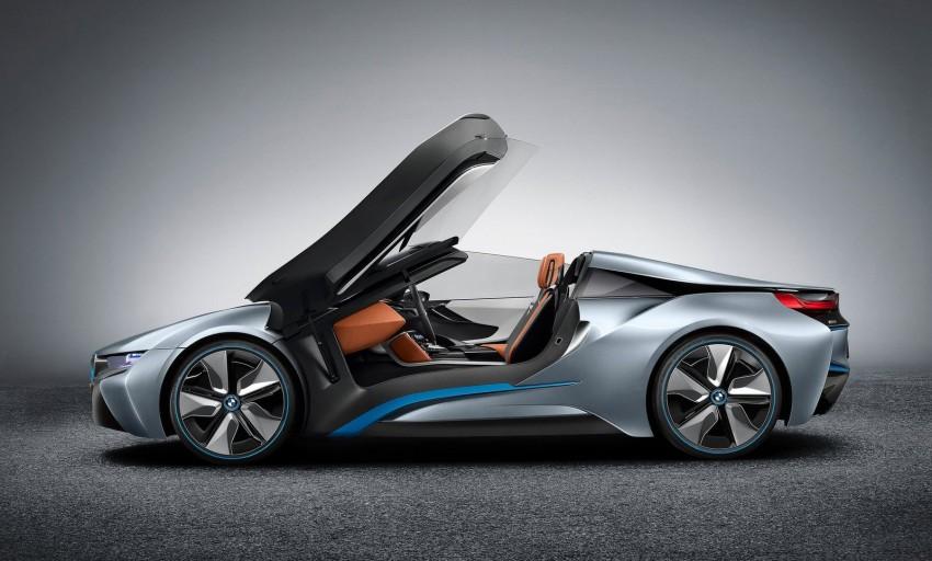 BMW i8 Spyder Concept – topless i8 set for Beijing debut Image #97016