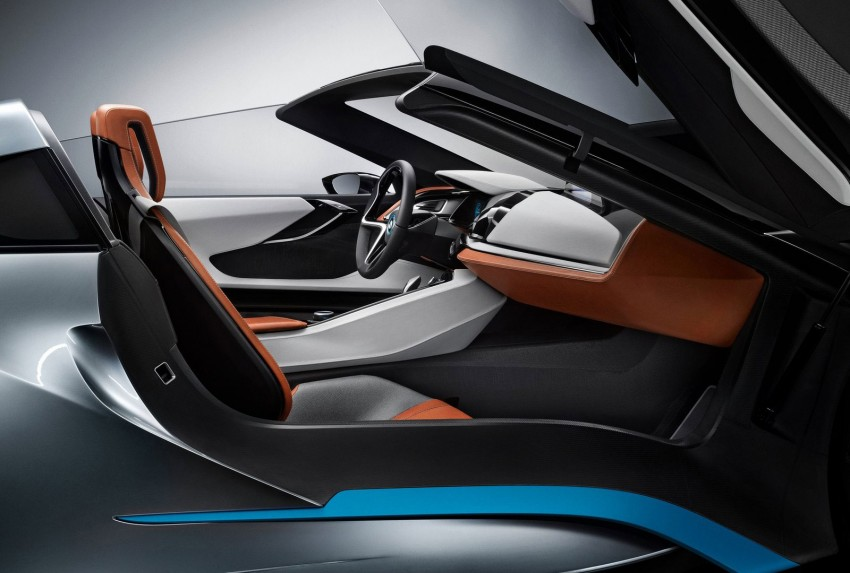 BMW i8 Spyder Concept – topless i8 set for Beijing debut Image #97018