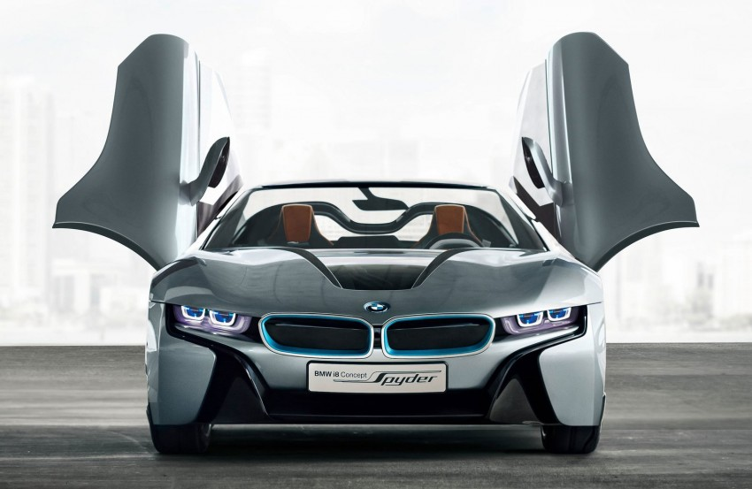BMW i8 Spyder Concept – topless i8 set for Beijing debut Image #97020