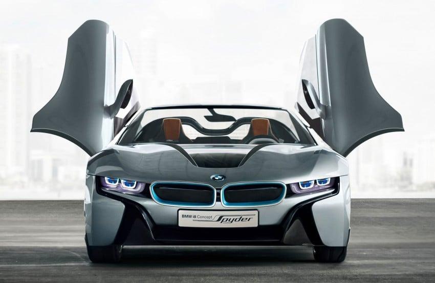 BMW i8 Spyder Concept – topless i8 set for Beijing debut Image #97020