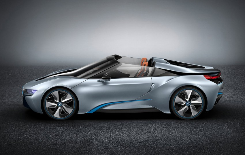BMW i8 Spyder Concept – topless i8 set for Beijing debut Image #97021