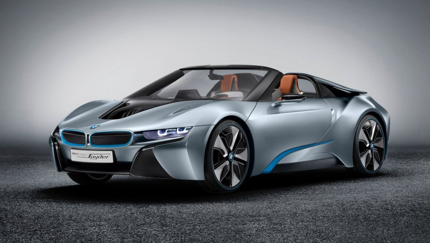 BMW i8 Spyder Concept – topless i8 set for Beijing debut Image #97022