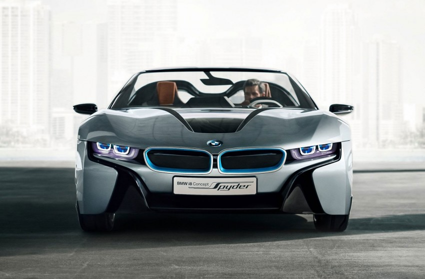BMW i8 Spyder Concept – topless i8 set for Beijing debut Image #97023