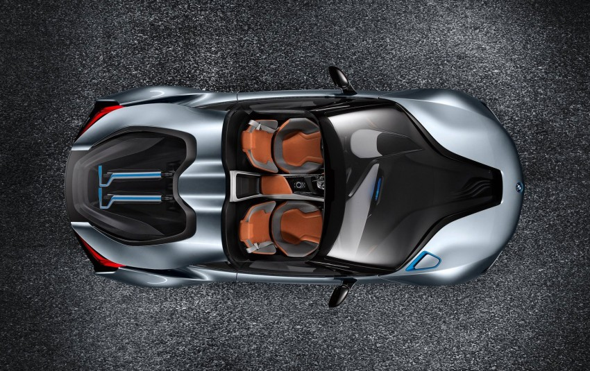 BMW i8 Spyder Concept – topless i8 set for Beijing debut Image #97024
