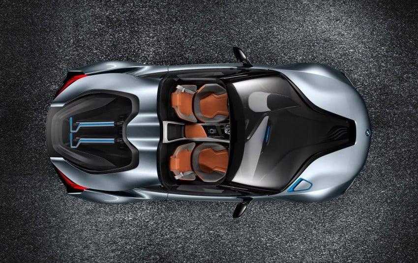 BMW i8 Spyder Concept – topless i8 set for Beijing debut Image #97024