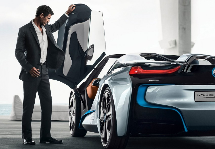 BMW i8 Spyder Concept – topless i8 set for Beijing debut Image #97029