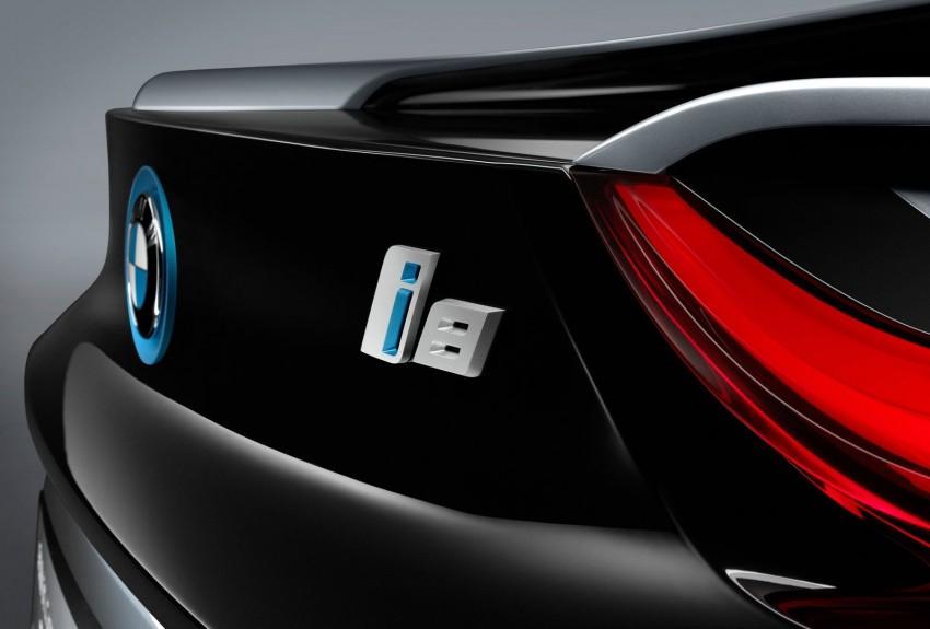 BMW i8 Spyder Concept – topless i8 set for Beijing debut Image #97031