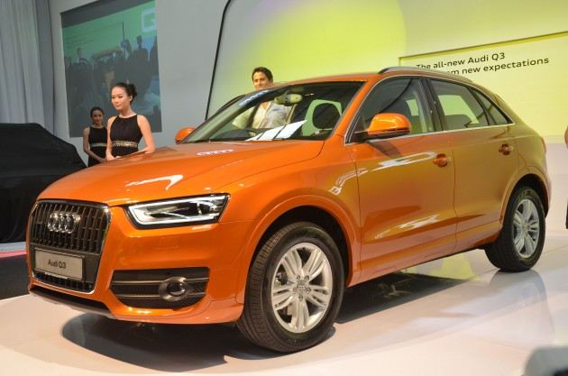 Audi Q Launched TFSI Hp RMk - Q3 audi price