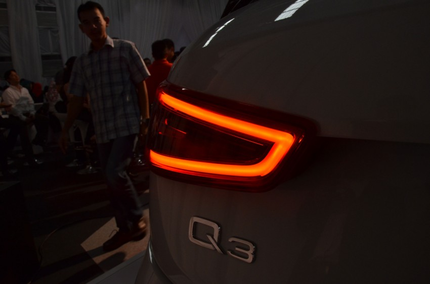 Audi Q3 launched – 2.0 TFSI, 170 hp, RM258k Image #115179