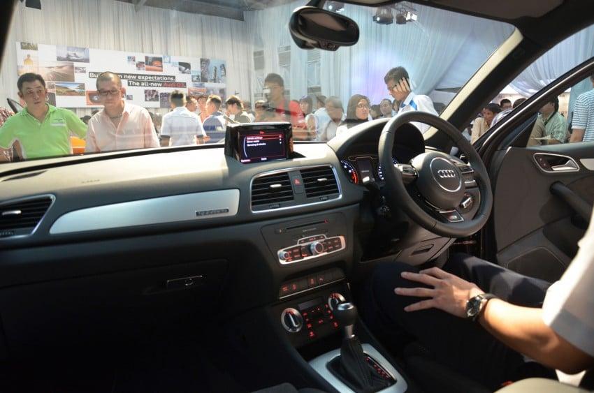 Audi Q3 launched – 2.0 TFSI, 170 hp, RM258k Image #115180