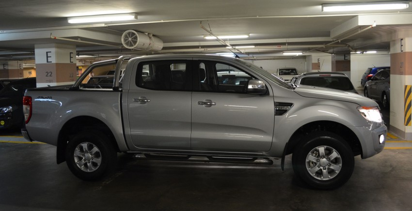 TESTED: Ford Ranger XLT 2.2 Manual driven in all jungles – the concrete one and the green-muddy one Image #117296