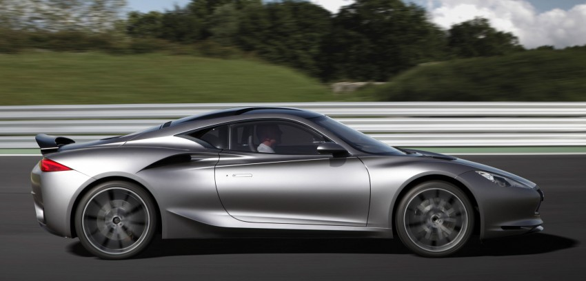 Infiniti EMERGE-E demo car emerges at Goodwood Image #116137