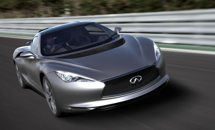 Infiniti EMERGE-E demo car emerges at Goodwood Image #116138