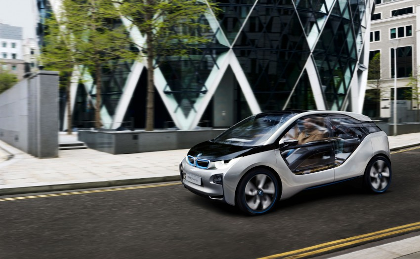 BMW i3 Concept update – chops trees for wood interior Image #113794