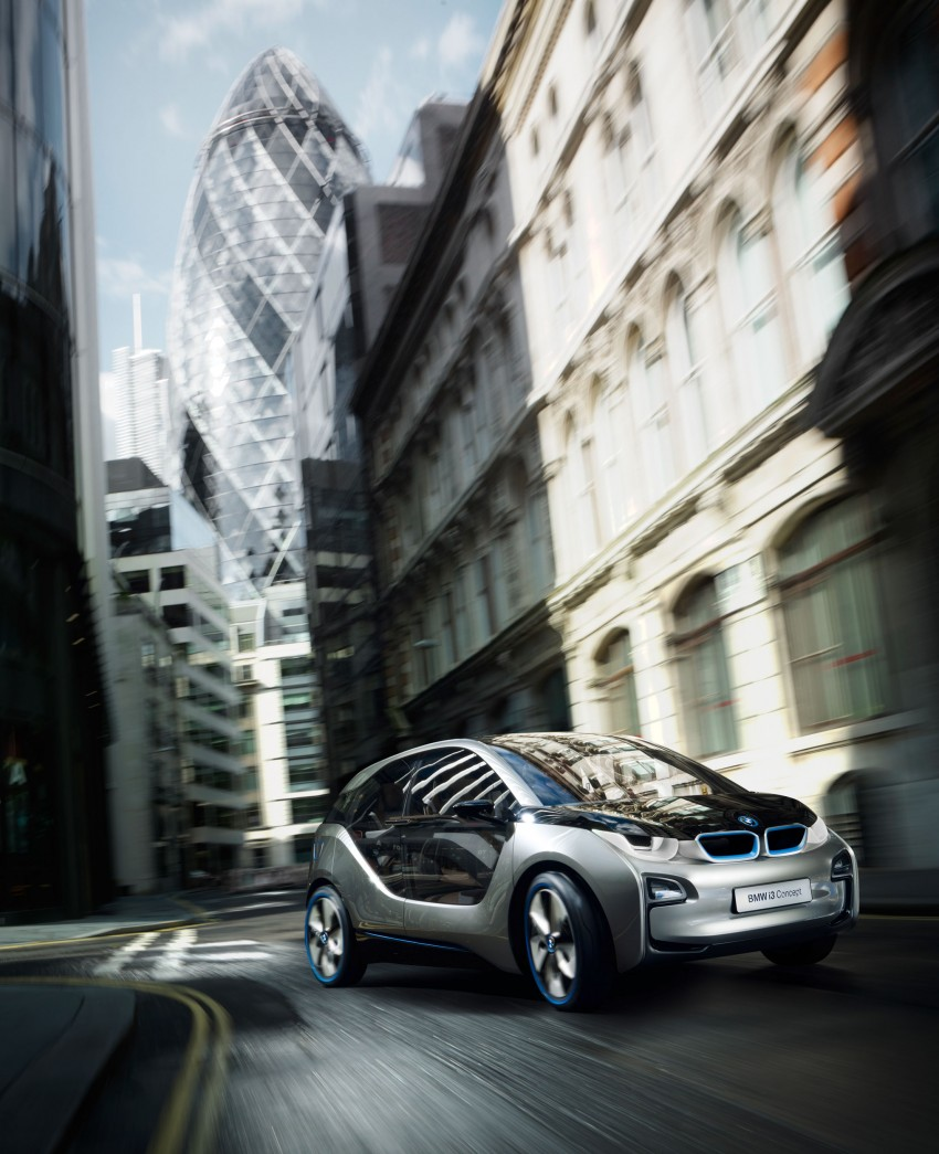 BMW i3 Concept update – chops trees for wood interior Image #113795