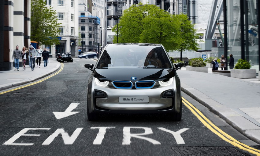 BMW i3 Concept update – chops trees for wood interior Image #113796