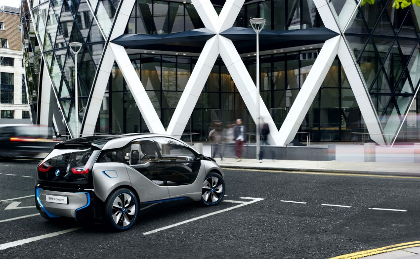 BMW i3 Concept update – chops trees for wood interior Image #113797