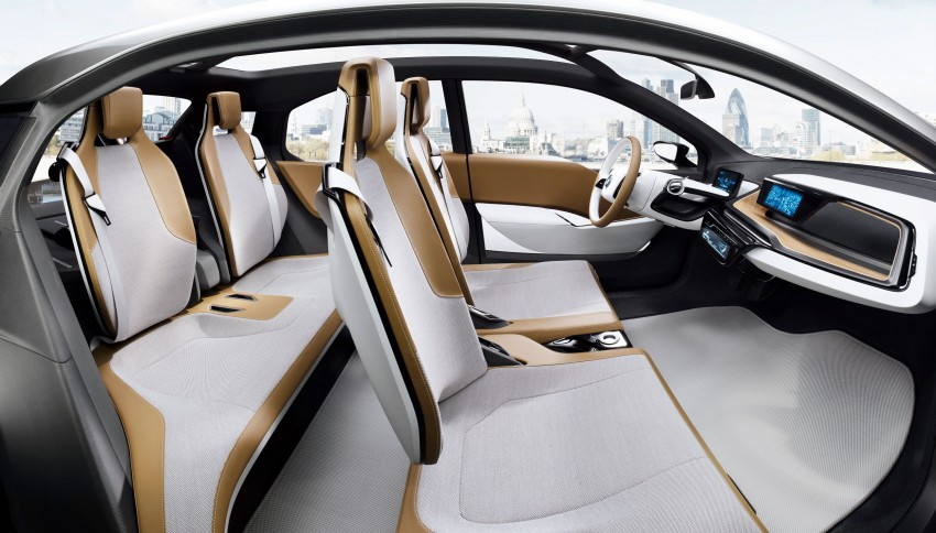 BMW i3 Concept update – chops trees for wood interior Image #113814