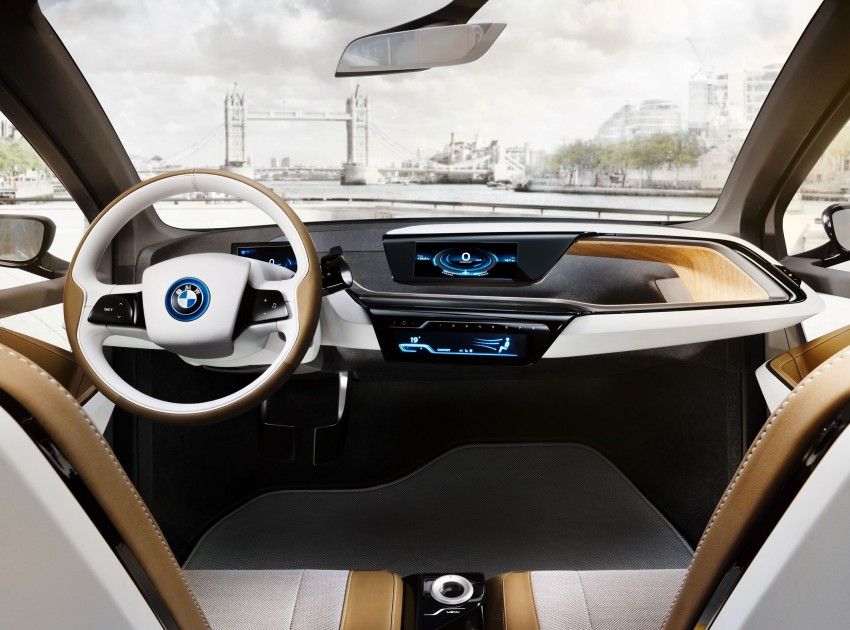 BMW i3 Concept update – chops trees for wood interior Image #113815