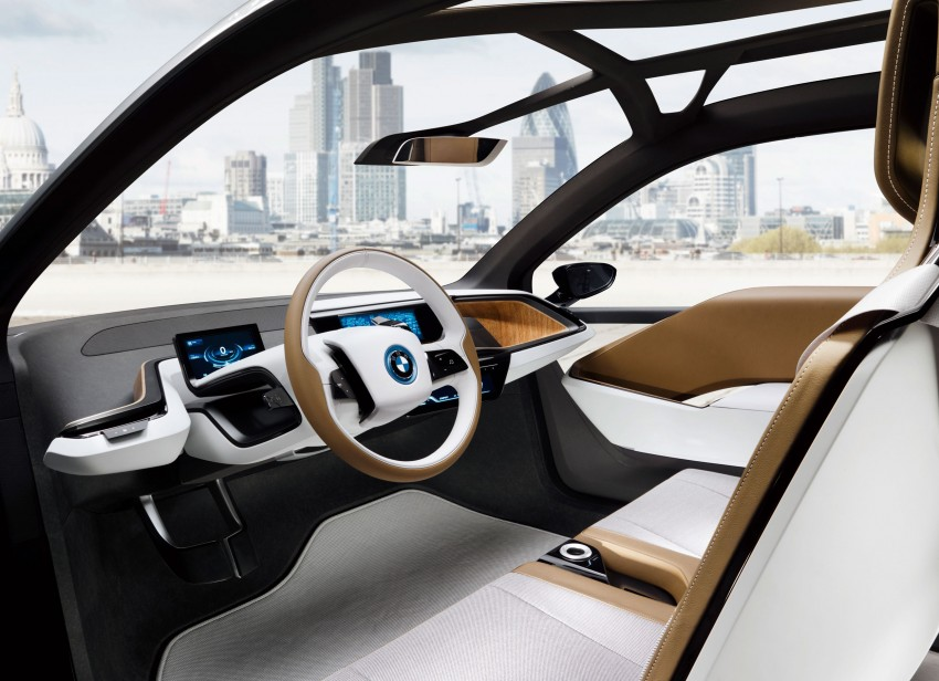 BMW i3 Concept update – chops trees for wood interior Image #113812