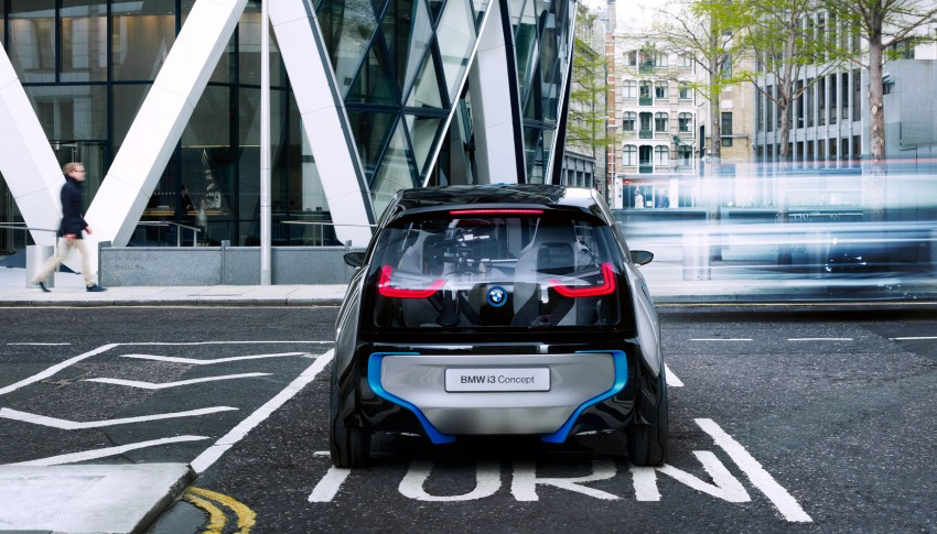 BMW i3 Concept update – chops trees for wood interior Image #113798