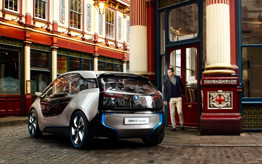 BMW i3 Concept update – chops trees for wood interior Image #113800