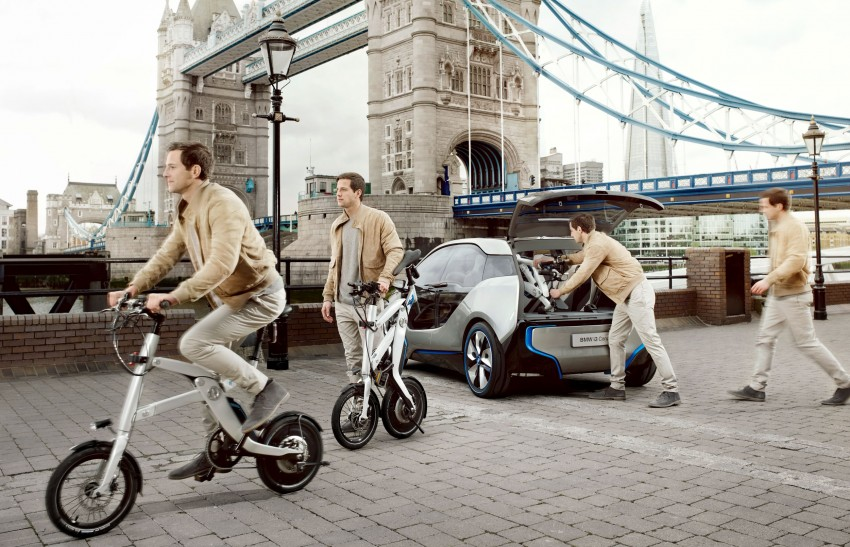 BMW i Pedelac Concept – bicycle with electric motor Image #113903