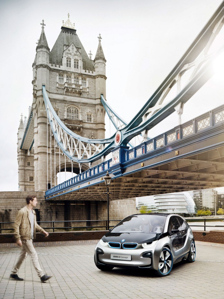 BMW i3 Concept update – chops trees for wood interior Image #113804