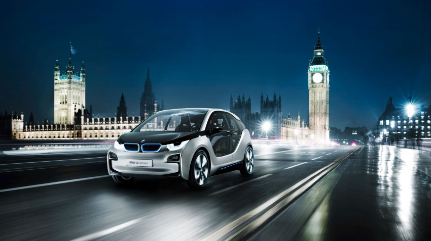 BMW i3 Concept update – chops trees for wood interior Image #113805